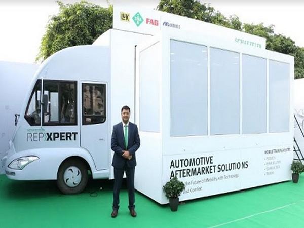 Debasish Satpathy, Vice President (Automotive Aftermarket), Schaeffler India during Van launch by Schaeffler India's Automotive Aftermarket division