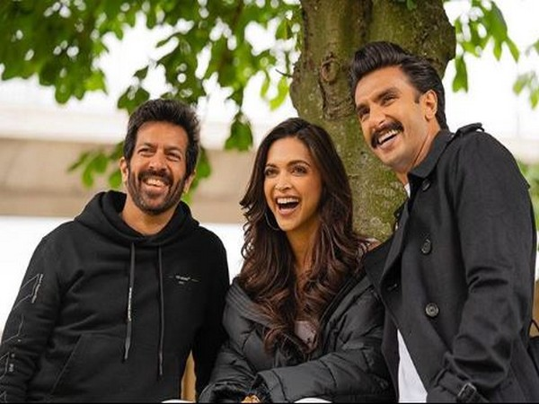 Deepika Padukone, Ranveer Singh and Kabir Khan (Image courtesy: Instagram)