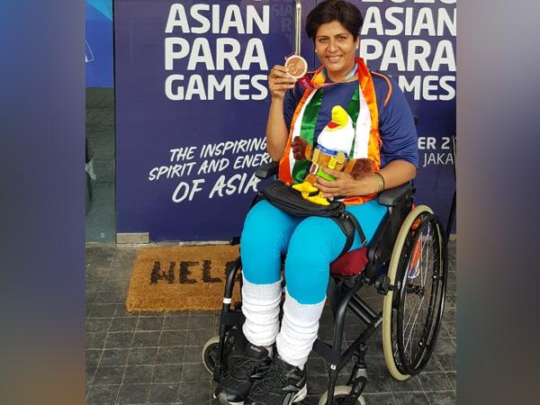 Rio Paralympics silver medallist Deepa Malik