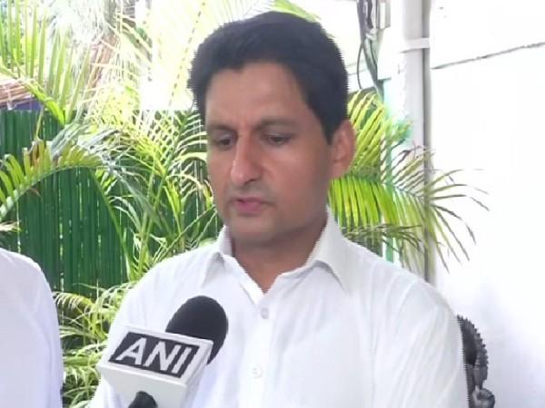 Congress MP Deepender Singh Hooda (File Photo/ANI)