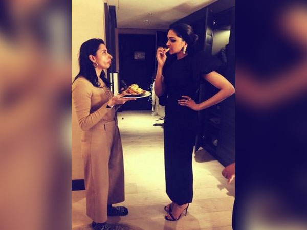The cute picture shared by actor Deepika Padukone on the occasion of her sister's birthday