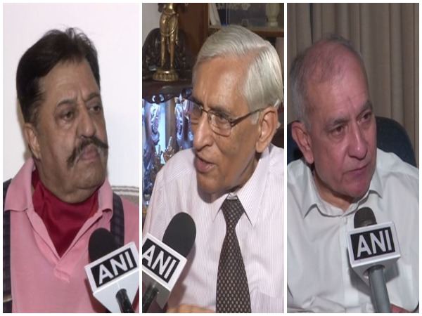 Defence Experts Praful Bakshi, PK Sehgal and SP Sinha speaking to ANI in New Delhi.