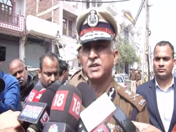 Delhi Police Special Commissioner (Law and Order), SN Srivastava speaking to media on Friday.
