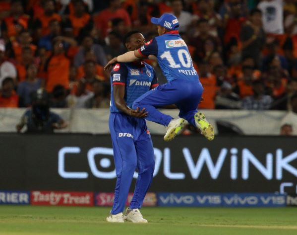 Delhi Capitals defeated Sunrisers Hyderabad by 39 runs on Sunday (Photo/ Delhi Capitals Twitter)