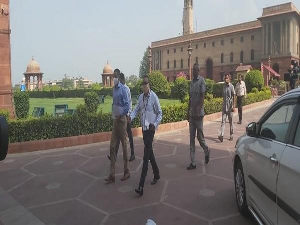 Visuals from MHA, Delhi