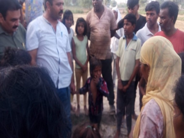 Delhi Police personnel save a 6-year-old boy from drowning in a drain in Narela