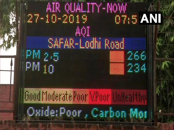 Air quality remains in the 'poor' category in Lodhi Road area on Diwali