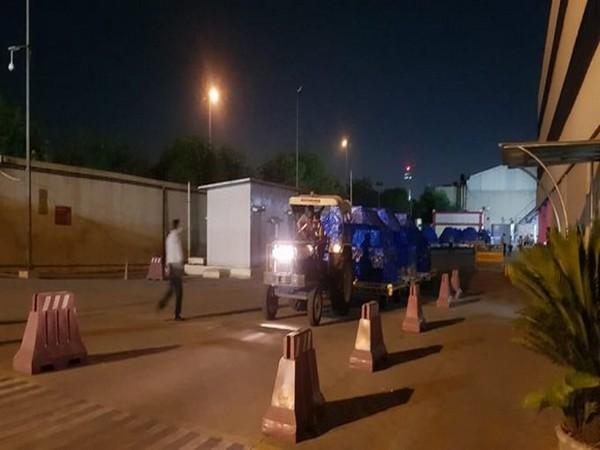 Delhi Air Cargo Import cleared 50 tonnes of COVID-19 import cargo at Delhi Airport.