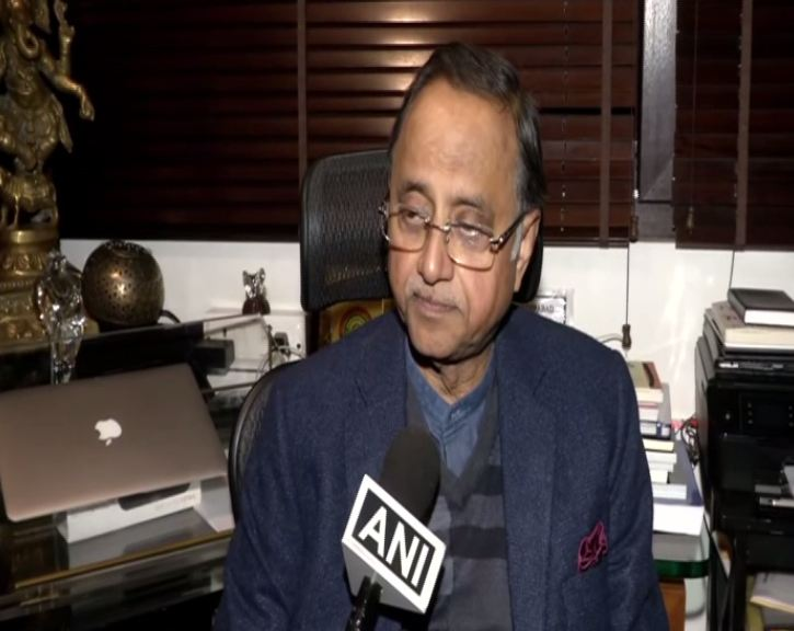 Former Delhi Police Commissioner Neeraj Kumar. Photo/ANI