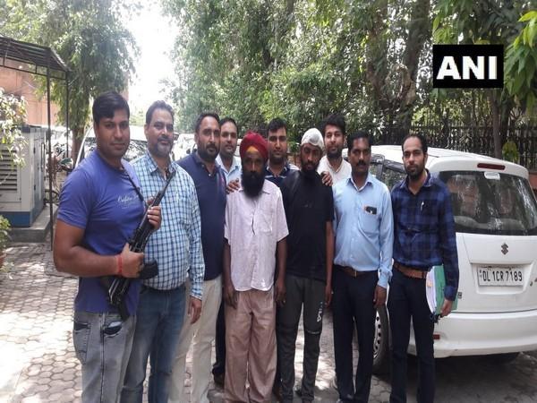 Delhi Police busts interstate gun smuggling racket. (Photo/ANI)