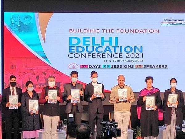 Delhi Govt commences its Education Conference (Photo: ANI)