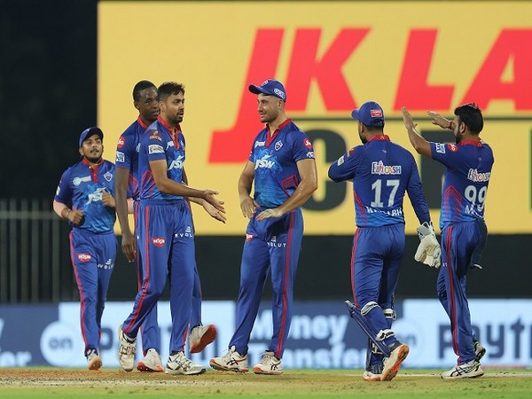 Delhi Capitals players celebrate a wicket  (Image: BCCI/IPL)