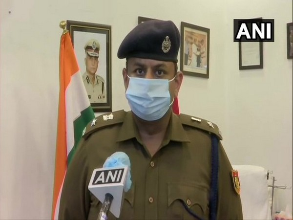 Delhi Police PRO Eish Singhal talking speaking with ANI on Friday. [Photo/ANI]