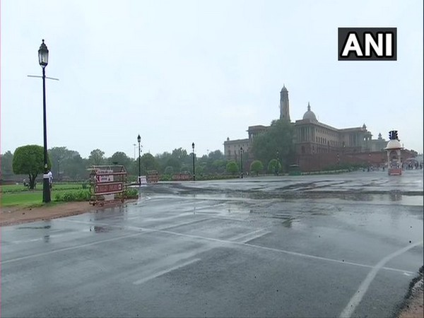 Visuals of Rajpath in the national capital. [Photo/ANI]