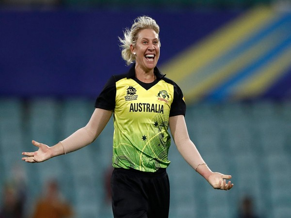 Australia pacer Delissa Kimmince (Photo/T20 World Cup Twitter)