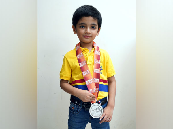 Dev Shah has been recognized by the Asia Book of Records as the youngest person ever to recite the names of all countries in order of their size