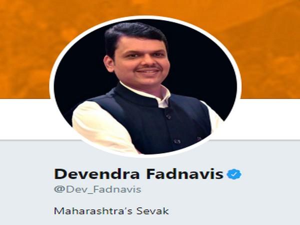 Devendra Fadnavis updated twitter bio on Wednesday. [Picture courtesy- Devendra Fadnavis/Twitter]