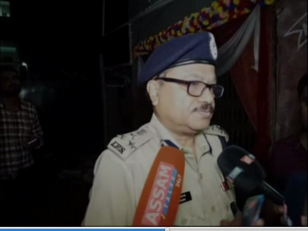 Joint Commissioner of Guwahati city police Devraj Upadhyaya speaks to media in Guwahati on Friday. [Photo/ANI]