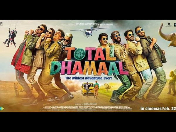 'Total Dhamaal' poster, Image courtesy: Instagram