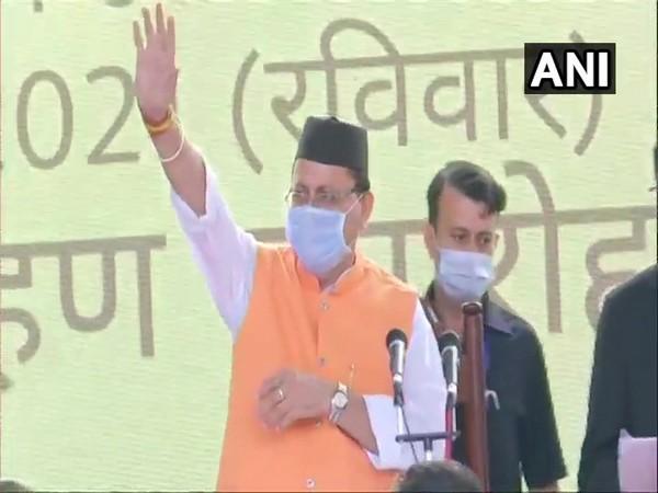 Uttarakhand CM Pushkar Singh Dhami. (Photo/ ANI)