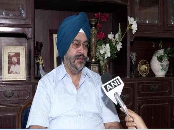 Former IAF chief BS Dhanoa speaking to ANI in New Delhi on Thursday. [Photo/ANI]