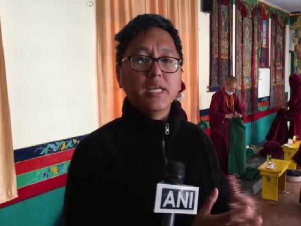 Dr. Tenzin Yeshi speaking to ANI in Dharamshala, Himachal Pradesh on Thursday.