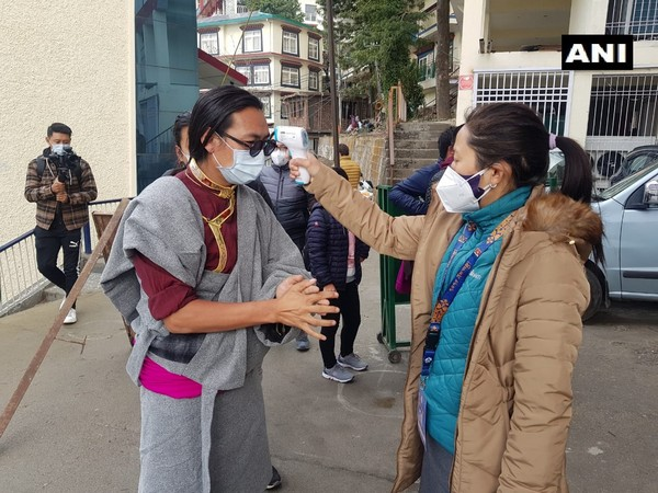 Tibetans living in exile cast their votes on Sunday.