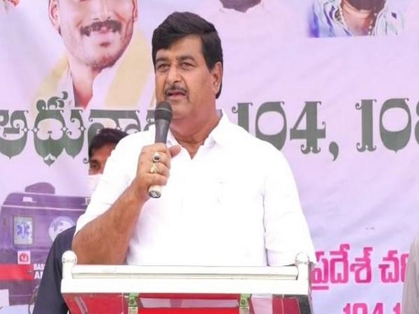 Andhra Pradesh Minister Dharmana Krishnadas. (File Photo)