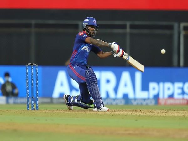 Delhi Capitals batsman Shikhar Dhawan (Photo/ IPL Twitter)