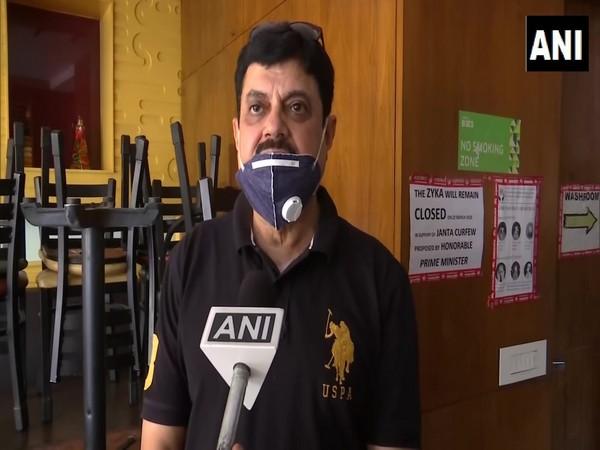 Joginder Pal Dhingra, a hotelier in Amritsar speaking to ANI. (Photo/ANI)