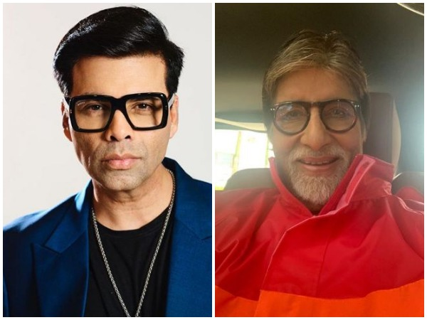 Karan Johar and Amitabh Bachchan (Image Courtesy : Instagram)