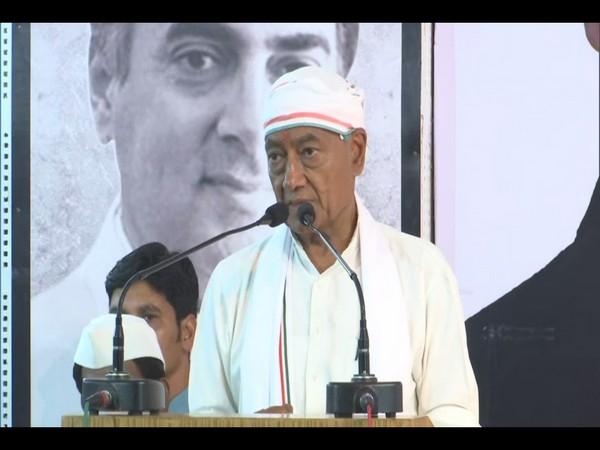 Bhopal Congress candidate Digvijaya Singh