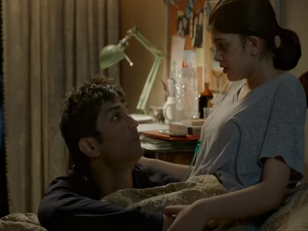 A still from the trailer of the film 'Dil Bechara' (Image Source: YouTube)
