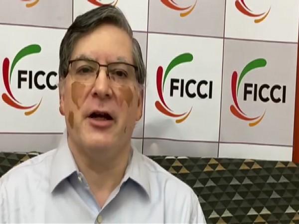FICCI Secretary General Dilip Chenoy speaking to reporters in New Delhi. Photo/ANI