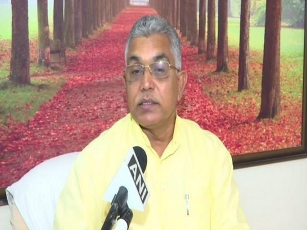 BJP West Bengal President BJP Dilip Ghosh. (Photo/ANI)