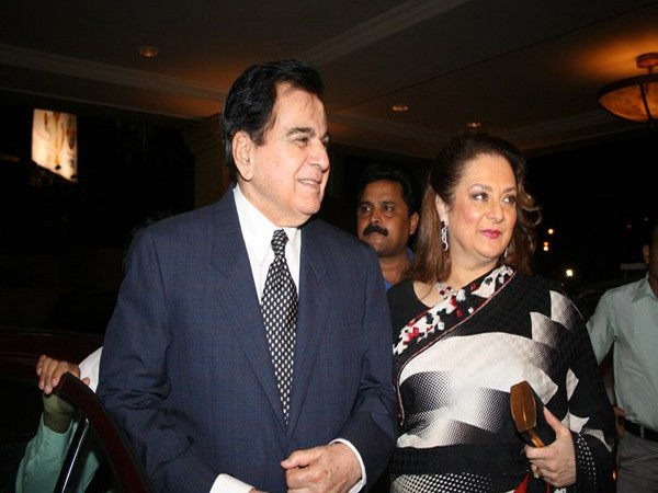 Veteran actor Dilip Kumar and wife Saira Banu (File pic)