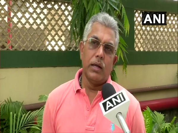 West Bengal BJP unit head, Dilip Ghosh speaking to ANI in New Delhi on Thursday
