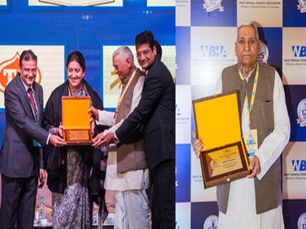 Dindayal Gupta conferred with West Bengal Hosiery Association Hall of Fame Award
