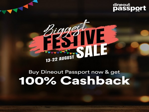 Dineout Passport 100% Cashback offer