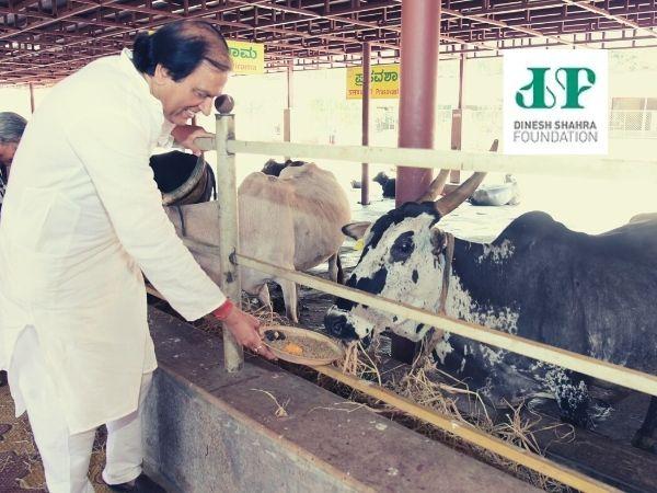 Dinesh Shahra at DSF 'Gau Shakti Abhiyan'