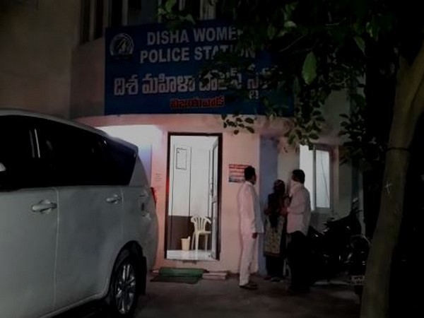 Woman filed complaint at Disha Police Station (Photo/ANI)