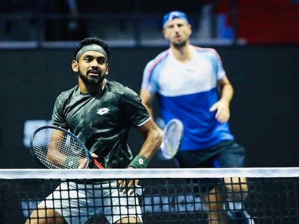 Indian tennis player Divij Sharan
