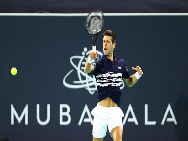 World number two tennis player Novak Djokovic