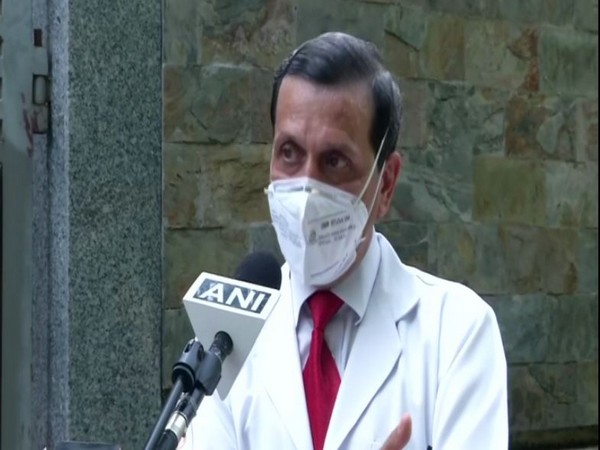 Chairman, Centre for Chest Surgery, Sir Ganga Ram Hospital Dr Arvind Kumar speaking to ANI in New Delhi on Sunday. Photo/ANI