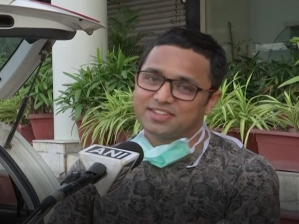 Dr Sachin Nayak of JP Hospital, Bhopal speaking to ANI on Tuesday. Photo/ANI