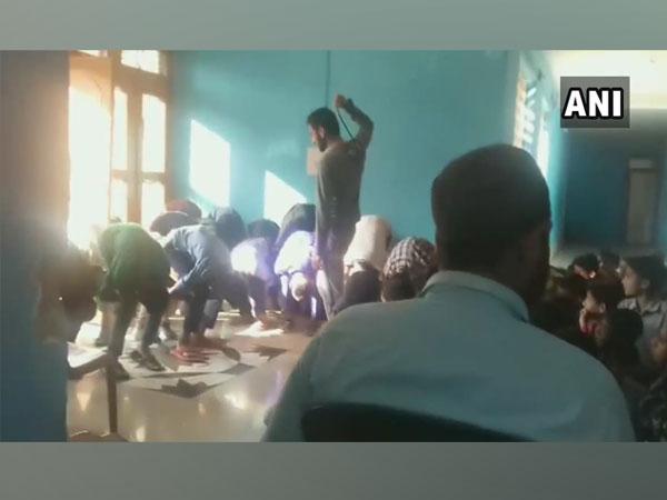 Video footage of Gujjar Bakerwal Boys Hostel