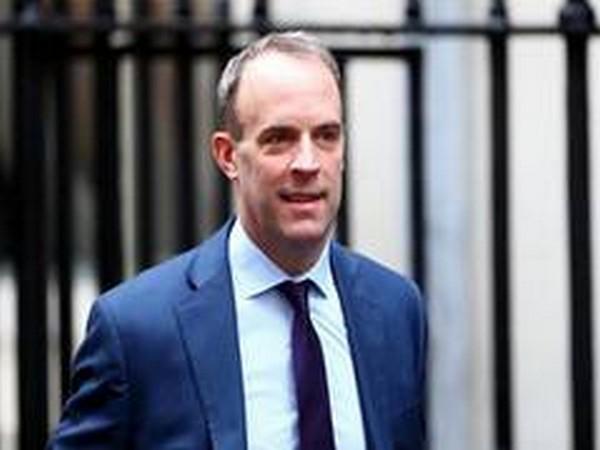 British Foreign Secretary Dominic Raab (File photo)