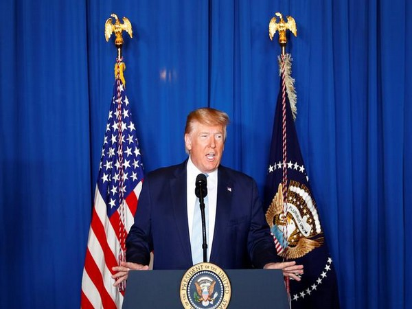 U.S. President Donald Trump delivers remarks following the US Military airstrike against Iranian General Qassem Soleimani in Baghdad.