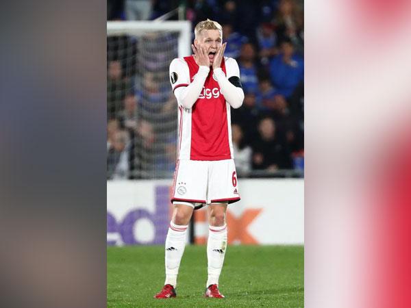 Dutch midfielder Donny van de Beek