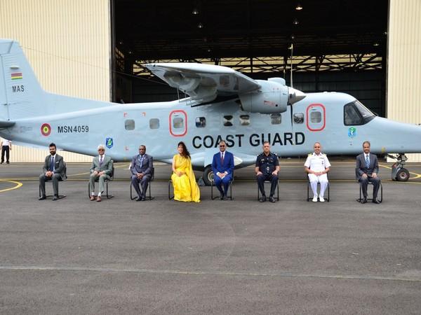 India handover Dornier aircraft to Mauritius as part of Vision SAGAR. (Twitter)